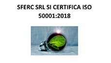 Sferc is ISO50001:2018 certified